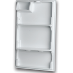 thermoformed refrigerator door liner